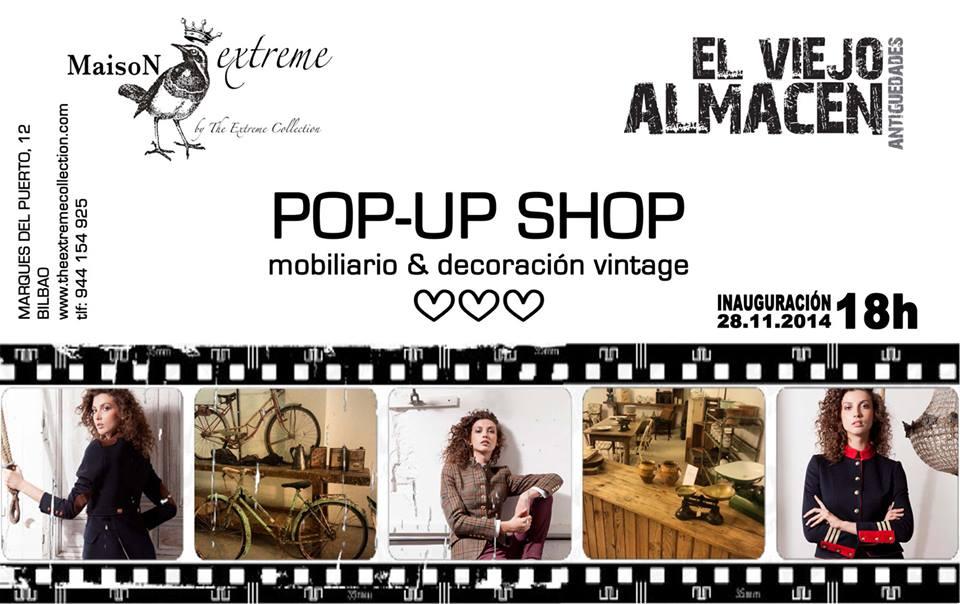 Pop- up store en Bilbao